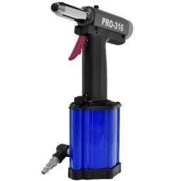 Rebitador Pneumático de Repuxo 3/16 pol Pro-316 Pdr Ldr2