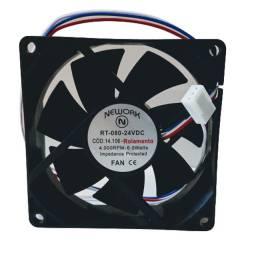 Miniventilador Nework 14.106 24v 4000 rpm rol 80x80x25mm