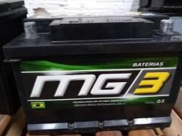 Bateria de 60ah Semi-nova!!!