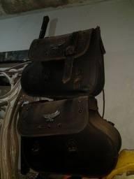 Bolsas de couro moto