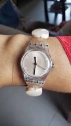Relógio Swatch pulseira elastica