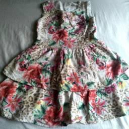 Lote roupas menina 3/4 anos