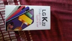 LG k22 semi-novo na garantia