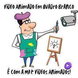 Vídeo animado mão desenhando