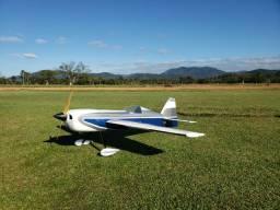 Aeromodelo MX-2, Motor DLE 55 e servos Savox, pronto para voar.