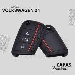 Capa de Silicone Chave Canivete VW Polo Golf Virtus Nivus