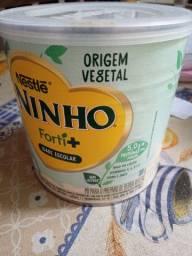 Doa-se esse leite de origem vegetal a lata ta a cima da metade .