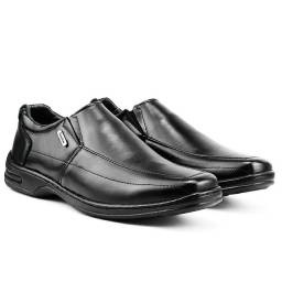 Sapato Social Preto Liso