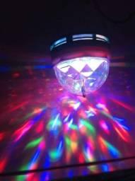 Lâmpada de LED giratória (NOVA)