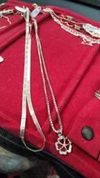 Corrente feminina prata 925 qualquer uma dela $150