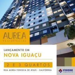 Aurea Residencial - Apartamento 2 Quartos com Suíte em Nova Iguaçu