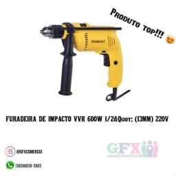 VVR 600W 1/2&Quot (13MM) 220V FURADEIRA DE IMPACTO