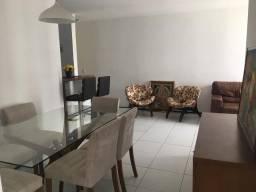 Apartamento mobiliado com 86m2 para alugar com 3 quartos sendo 1 suíte no Calhau
