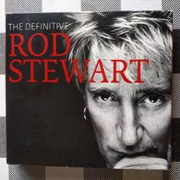 Título do anúncio: Cd / Dvd Rod Stewart - The Definitive (Importado / Digipack Triplo)