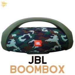 JBL Boombox Primeira Linha 31cm Bluetooth Radio FM