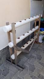 Estrutura para plantio hidropônica ou Vertical