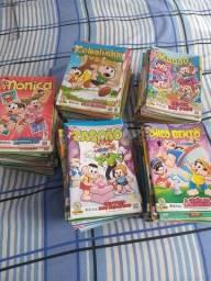 Revista em quadrinhos turma da Mônica