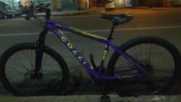 Ótima oportunidade bicicleta pouco tempo de uso para vender ligeiro