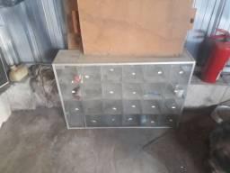 Baleiro de vidro 24 bocas só100 pila