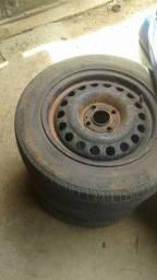 Vendo rodas 14 com pneus