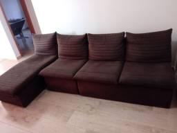 Sofa novinho, 3 peças