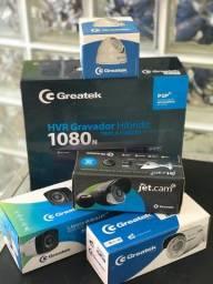 Kit Segurança Eletrônica Greatek Com Dvr E Câmeras - Novo