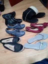 Sapatos n 38 , 8 reais cada um em santa felicidade