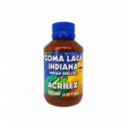 Goma Laca Indiana Seladora 100 Ml Secagem Rápida - Acrilex - Original Lacrado