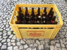 20 caixas com 24 garrafas