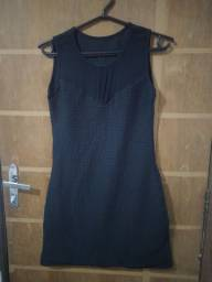 Título do anúncio: Vestido preto (plus)