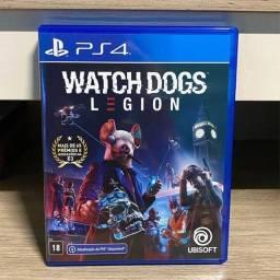 Watch Dogs Legion PS4 (troco)