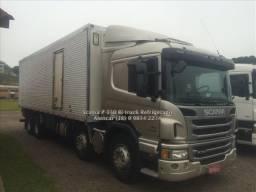 Scania P-310 Baú Refrigerado com aparelho, porta lateral, bi-truck cama leito pneus novos