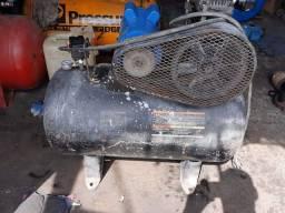 Compressor De Ar Schulz Bravo - 10 Pes 100 Litros