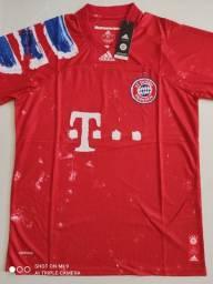 Camisa Bayern de Munique Human Race Adidas x Pharrell 20/21 - Tamanhos: P, M, G