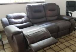 Sofa de couro ecologico