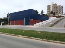 Galpão de esquina 600 m2 - Barreiros - São José