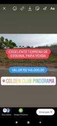 Excelente Terreno de Esquina no Golden Club pindorama