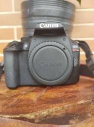 Câmera Canon T6+ Flash profissional