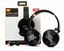 Fone de Ouvido JBL Headphone JB950 Bluetooth, Rádio e Microfone