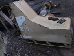 Tanque de combustivel pa carregadeira michigan 55a em bom estado