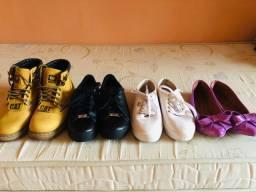 Sapatos número 35