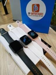 Relógio inteligente T500 android e Ios troca foto novo