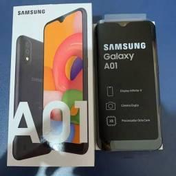 Samsung A01 cor preta CHUMBO