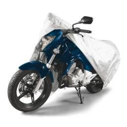 Título do anúncio: Capa Protetora para Motos até 2,2m Tamanho G Tramontina