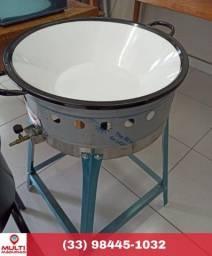 Tacho a gás para frituras, Inox, 14 litros