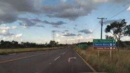 Alugo 10 ha de frente para o asfalto. Região do Aeroporto de Santa Maria.