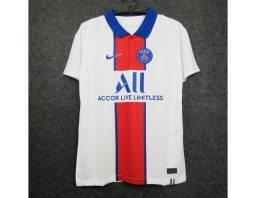 Camisa Do Psg Ii 2021 - Branca