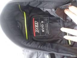 Jaqueta masculina de moto