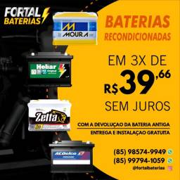 Título do anúncio: Bateria Bateria Heliar Bateria Bateria Voyage Bateria 60Ah Bateria Bateria