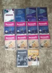 Coleção de livros Bernoulli para Enem e vestibulares